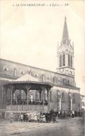 ¤¤  -   3   -  ILE-de-RE  -  LA COUARDE-en-RE   -   L'Eglise  -  La Fanfare Jouant Dans Le Kiosque   -  ¤¤ - Ile De Ré