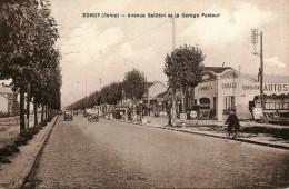 Bondy - Le Garage Automobiles PASTEUR  Et L'avenue Galliéni - Belle Animation - Bondy