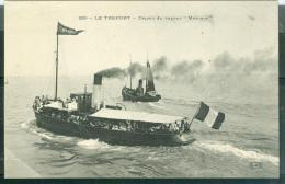"""N°250  -  Le Tréport   -  Départ Du Vapeur """" Mercure """"  - Lfk46 - Ferries"""