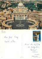Vatican City Postcard Posted 1971 Nice Stamp - Vatican