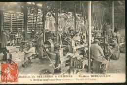 Fabrique De Serrures & Cadenas - G. Debeaurain à Béthencourt Sur Mer - Un Coin De L´atelier - Andere Gemeenten