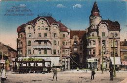 Europe / Hongrie / Nagyvarad Hotel Schwarzer Adler / Tramway Remington - Hungary