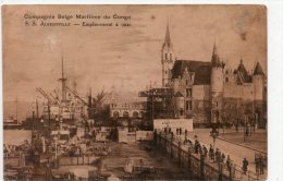 Antwerpen - Compagnie Belge Maritime Du Congo, SS Albertville - Antwerpen