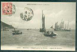 N°1068  - MARINE -  Départ Pour La Pêche - Légué Saint Brieuc    Lfk127 - Saint-Brieuc