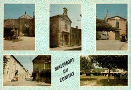 CPM MALEMORT DU COMTAT , Multivues - Autres Communes