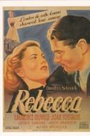CPM INTERNATIONAL HITCHCOCK CLUB : REBECCA 1940 - Affiches Sur Carte