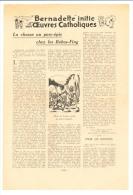 Format 26,5 X 18 Cm / Chasse Au Porc-épic Chez Les Bobos-Fing ( Bobos-Dioulasso ) Haute-Volta Bobo  //  VP 146/1 - Alte Papiere