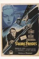 CPM INTERNATIONAL HITCHCOCK CLUB : SUEURS FROIDES 1958 - Affiches Sur Carte