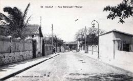 DAKAR (Senegal) - Rue Beranger-Feraud, Karte Nicht Gelaufen Um 1905?, Verlag J.Benyoumoff - Senegal