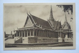 INDOCHINE - Salle Du Trône De PHNOM PEB - CAMBODGE - Cambodia
