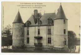 MOUTIERS LES MAUFAITX. -  Château De La Cantaudière. Beau Plan - Moutiers Les Mauxfaits