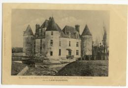 MOUTIERS LES MAUFAITX. -   Le Château De La Cantaudière. - Moutiers Les Mauxfaits