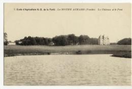 LA MOTHE ACHARD. - Le Château Et Le Parc - La Mothe Achard