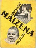 LIVRETS RECETTES   Publicité Maizena - Gastronomie