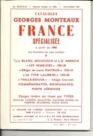 Catalogue G.Monceaux France Spécialisée à Partir De 1900, De 1981 - Non Classés