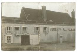 Carte Photo Marchand Limonade Et Eau De Seltz Yonne Loiret - Marchands