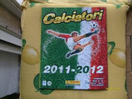 CALCIATORI 2011 2012 Panini Calcio Italia + 4 Figurine Album - Trading-Karten