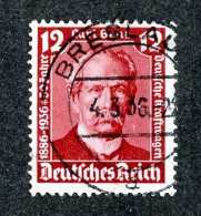 7677  Reich 1936 ~ Michel #605 O ( Cat.€1.30 ) - Offers Welcome! - Used Stamps