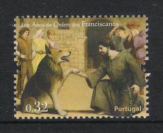 Portugal 2009 Wolf Lupus Mi# 3393 ** MNH 800 Jahre Franziskanerorden - 1910-... Republik
