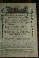 MILITARIA GUERRE 1914-1918- BELLE AFFICHE POUR DONNER DES ARMES... GUY ARNOUX* IMPRIMEUR JOMBART-DEVAMBEZ PARIS - Affiches