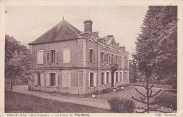 Cpa-87-sereilhac -chateau De Puycheny - France