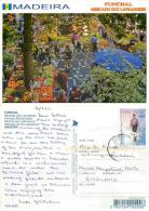 Mercado, Funchal, Madeira, Portugal Postcard Posted 2011 CABO VERDE Stamp #2 - Cape Verde