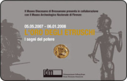 *ITALIA: L'ORO DEGLI ETRUSCHI* - Scheda Usata - Italia