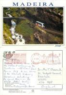 Seixal, Madeira, Portugal Postcard Posted 1994 Meter Hotel Savoy - Madeira