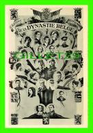 FAMILLES ROYALES - ARBRE GÉNÉALOGIQUE DE LA DYNASTIE BELGE - PHOTO GÉRARD - - Royal Families