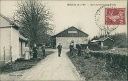 77 EVERLY / La Gare De Chalmaison-Everly / - Autres Communes