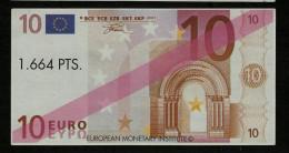"Test Note (Educativ-Geld) ""VALENCIA"" 10 EURO, Beids. Druck, RRRRR, UNC -, 140 X 72 Mm, 1998 - EURO"