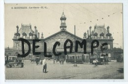 CPA -  Roubaix - La Gare - Roubaix