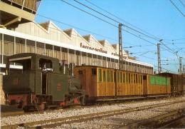 Nº64 POSTAL DE ESPAÑA DEL CREMALLERA DE MONTSERRAT EN MARTORELL  (TREN-TRAIN-ZUG) AMICS DEL FERROCARRIL - Trenes