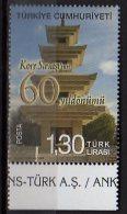 2011 Turkey - 60 Anniversary Of Korean War - 1v Paper - MNH** - Nuevos