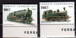 2010 Turkey - Lokomoiven - 2 V Paper - MNH** - Nuevos