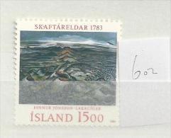 1983 MNH Iceland, Island, Mi 602, Postfris - Ongebruikt