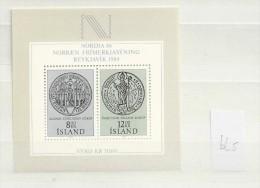 1983 MNH Iceland, Island, Mi Block 5, Postfris - 1944-... Republique