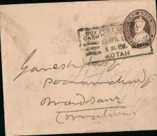 Ganzsache. India Postage. One Anna. 1936 - Briefe