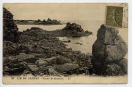 Ile De BREHAT--Pointe De Guersido  N°28  éd LL - Ile De Bréhat