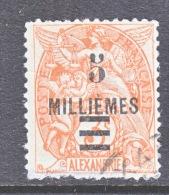 ALEXANDRIA   51  (o) - Alexandria (1899-1931)