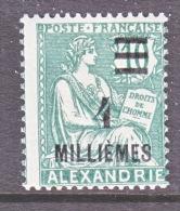 ALEXANDRIA   65  (o) - Alexandria (1899-1931)
