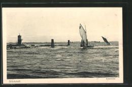 AK Glückstadt, Aussenhafen Mit Segelbooten - Glueckstadt