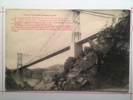 Pont Gisclard, Vallée De La Têt, Passage D´un Train électrique - Frankrijk