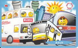 Singapore Subway Bus Ticket Farecard  Used - U-Bahn