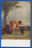 Malerei; Constant Troyon; Auf Der Weide; Museum Leipzig - Pittura & Quadri