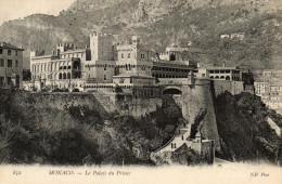 - MONACO -Le  Palais Du Prince  - (recto Verso) - Palais Princier