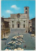 Todi: FORD TAUNUS 12M P4, FIAT 2300S COUPÉ, 500, 600, 1100, 1400, 1100T, RENAULT 4 Etc. - Piazza Del Popolo - (PG) - Voitures De Tourisme