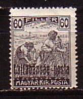 HONGRIE / WESTUNGARN - 1921 - Timbres De Hongrie Surcharge -  60 Fi.** Mi 25 - Sonstige
