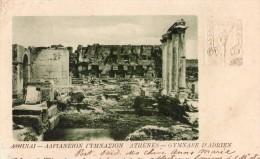 Athenes-gymnase D'adrien - Griechenland