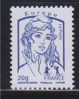 Marianne Et La Jeunesse Gommé Faciale Lettre Europe -20g  N° 4768 Bleu Neuf - 2013-... Marianne De Ciappa-Kawena